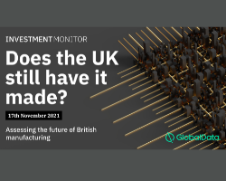 UK Manufacturing Investment Conference 2021