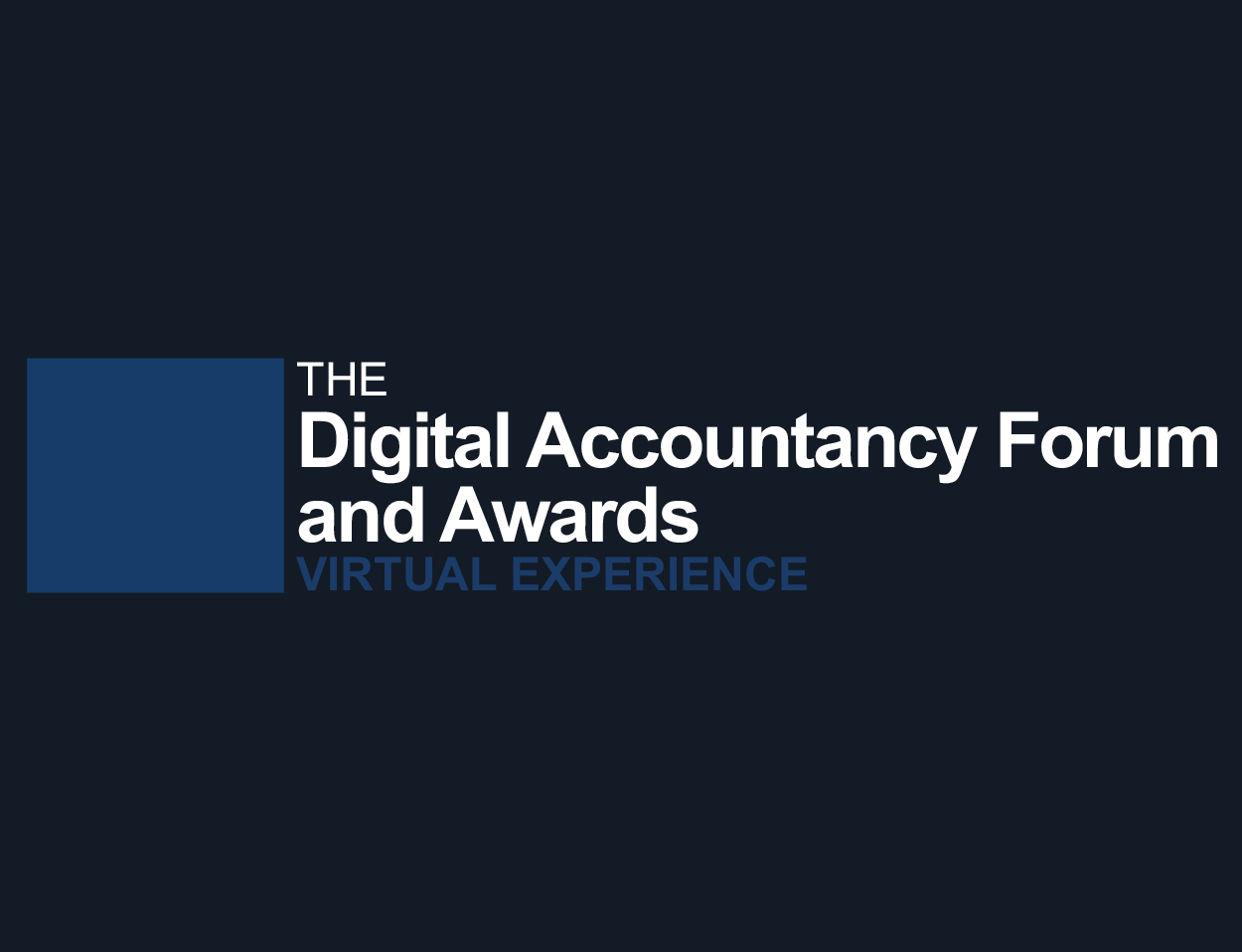 The Digital Accountancy Forum and Awards – A Virtual Experience